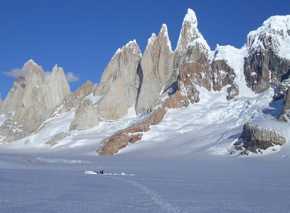 Cerro Torre from the ice cap, 131 kb