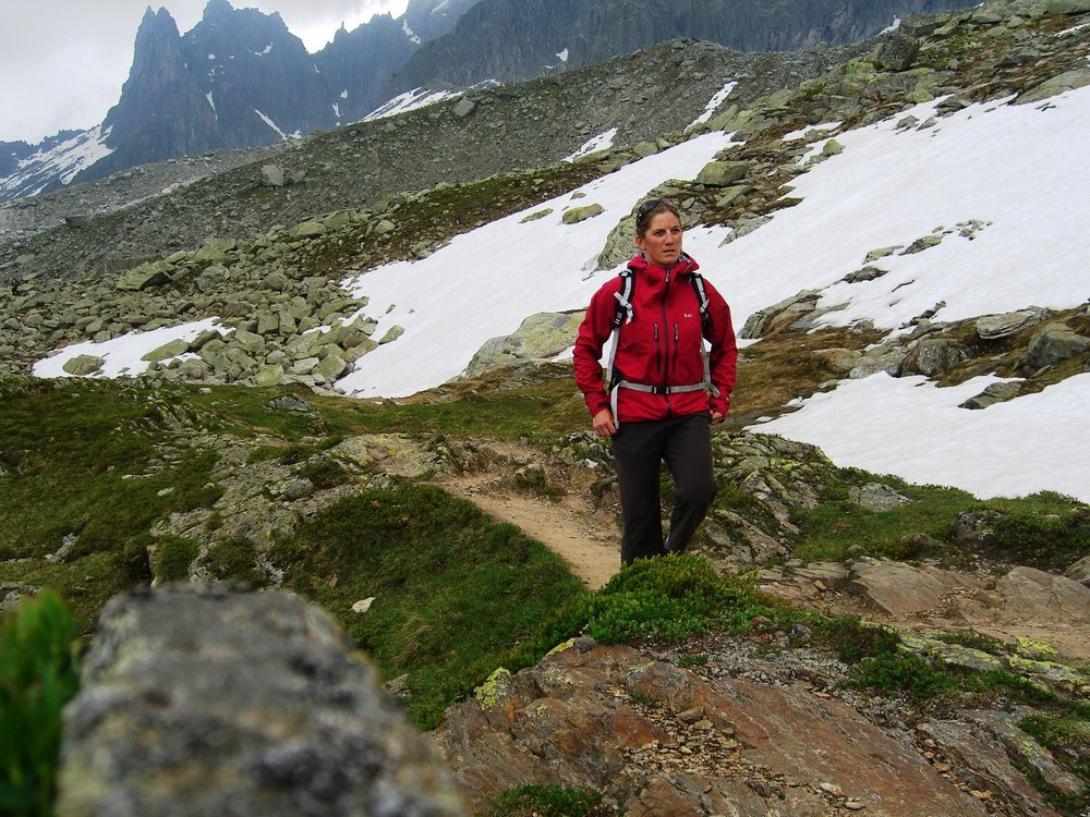Hiking Grand Balcon Nord, on the run from another thunderstorm!, 216 kb