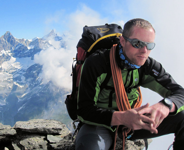 On the Hornli Ridge of the Matterhorn, 98 kb