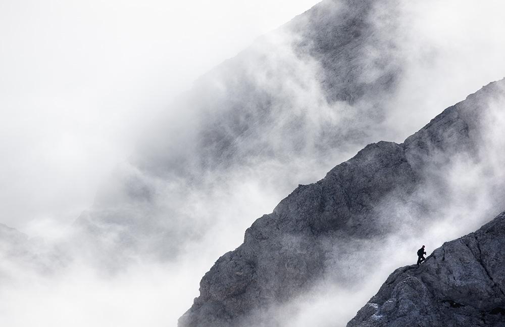 Lone Rock Scrambler (North Ridge up Triglav in Slovenia), 144 kb