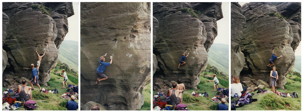 Johnny Dawes (far left) and Nick Dixon on Lupino Lane, 130 kb