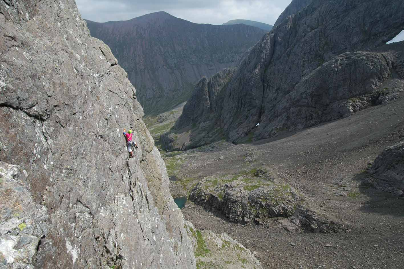 Strident Edges South, Ben Nevis, 157 kb