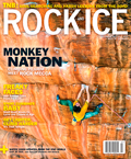 Rock and Ice Magazine Cover, 33 kb