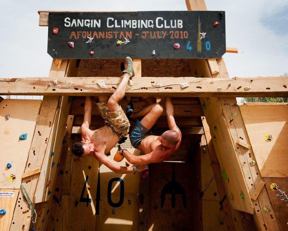Sangin Climbing Wall,   The worlds most dangerous climbing wall!!!   , 155 kb