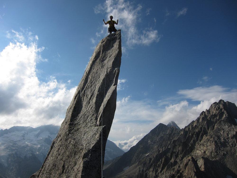 Summit needle, Salbit., 115 kb