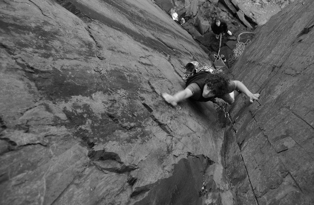 Simon Park - High Climber