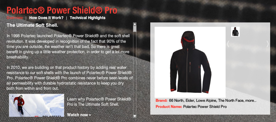 Polartec®Power Shield®, 136 kb