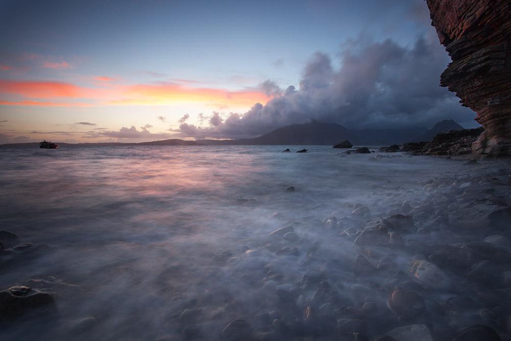 Sunset over Elgol Bay, 106 kb