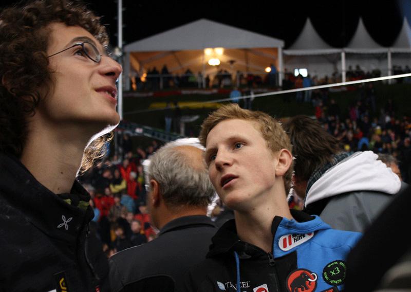 Adam Ondra and Jakob Schubert, 157 kb
