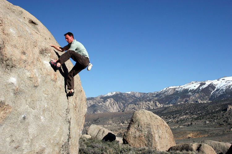 Brian Kuhl on a Buttermilk classic, Funky Tut V3., 90 kb