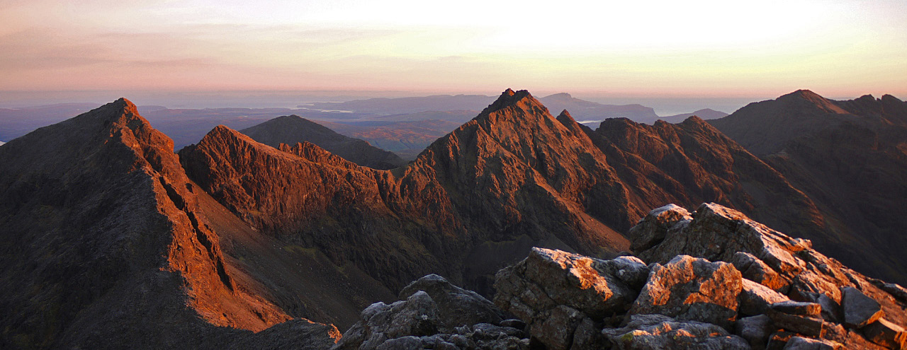 Sunrise - Cuillin, 230 kb