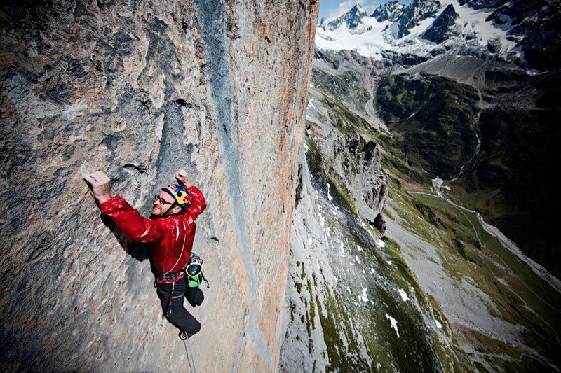 Iker Pou on Zahir (F8b+ 300m), Wendenstock, Switzerland. , 135 kb