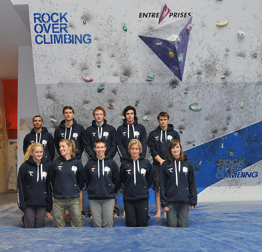 Some of the British Bouldering Team for 2011, 234 kb