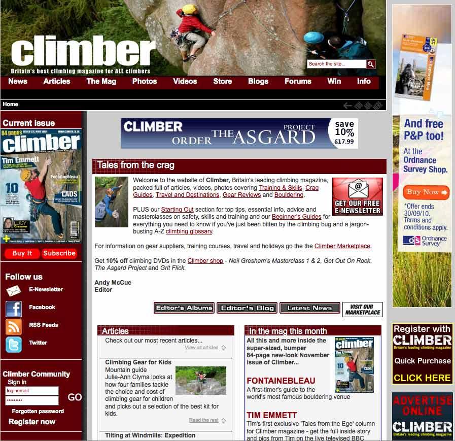 Climber magazine, 105 kb