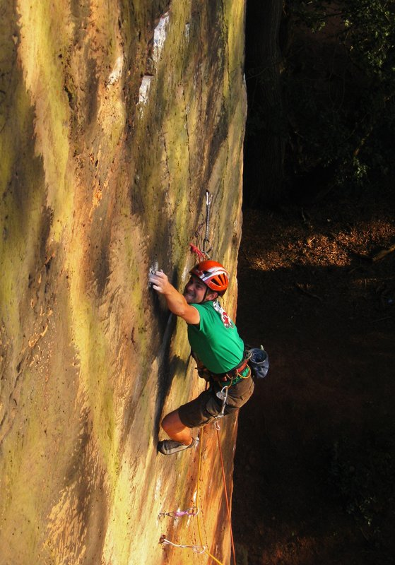Latching the mono on Gathering Sun, Nesscliffe, 97 kb