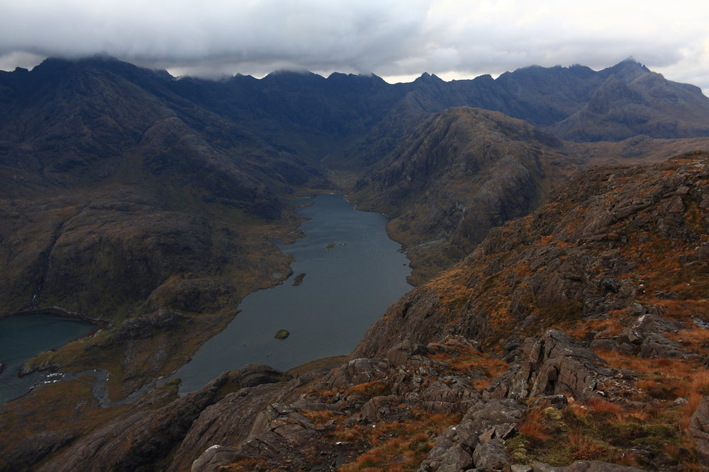 The Cuillin and Loch Coruisk from Sgurr na Stri, 128 kb