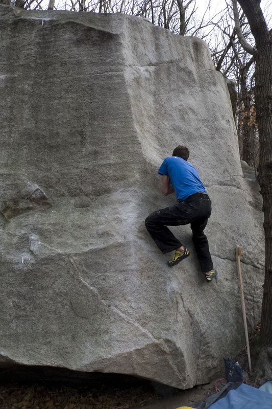 Jack on the classic 7A wall problem of Harry Spotter, Cresciano, 117 kb