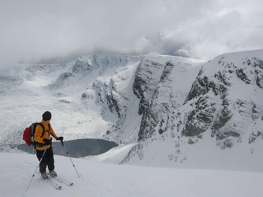 Looking into the coire from Stob Poite Coire Ardair, 126 kb