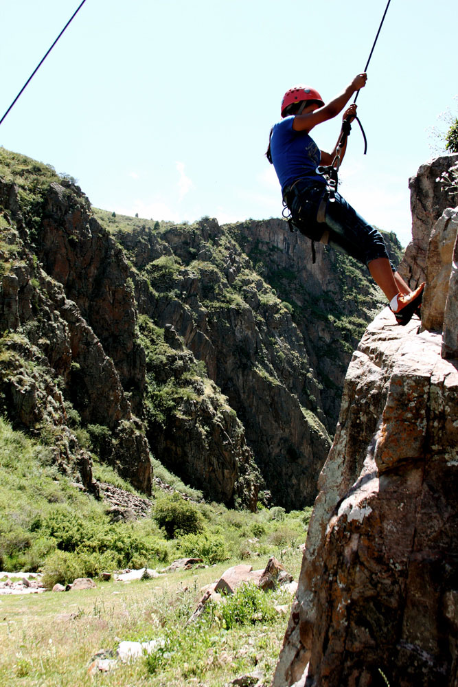 Clouds at their Feet – Climbing and Charity in Kyrgyzstan, 219 kb