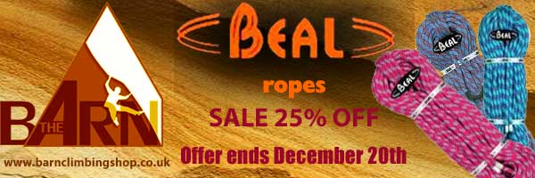 Beal Rope Sale 25% Off #1, 26 kb