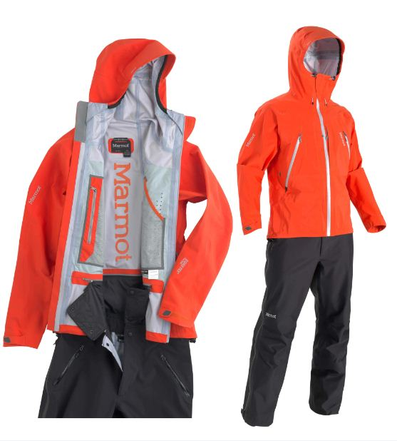 Alpinist Pant zipped into Alpinist Jacket , 46 kb