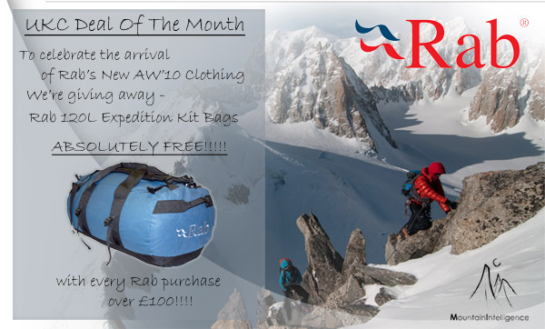 UKC November Deal Of The Month - Free Rab 80L Expedition Kit Bag!!! #1, 72 kb