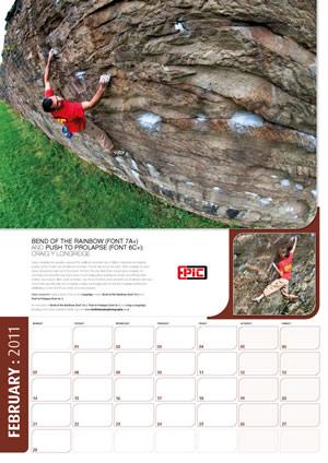 Keith Sharples calendar 2011 - February, 42 kb