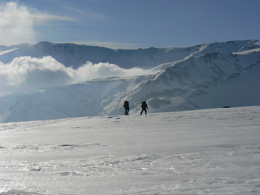Sierra Nevada: On the way up to the Poqueira Refuge below Mulhacen, 127 kb