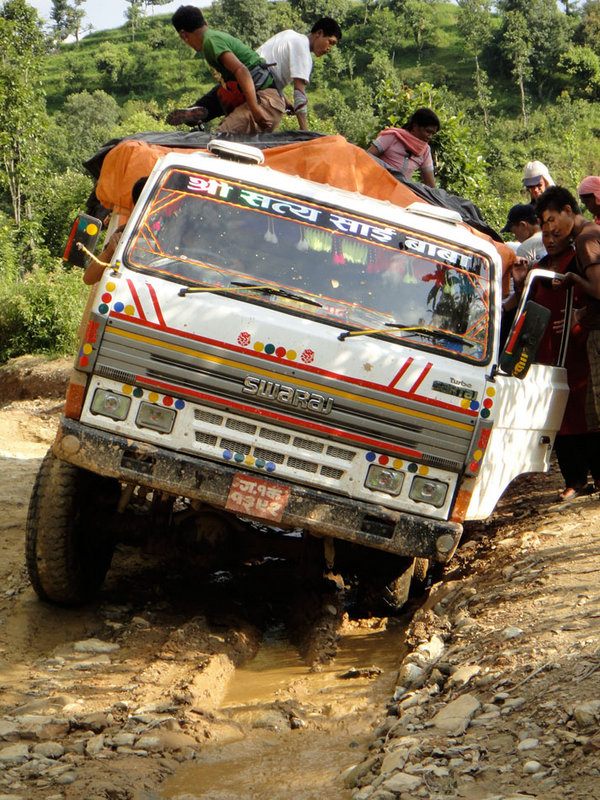 The epic 4x4 ride to the road head, 209 kb
