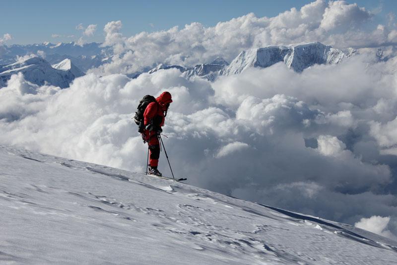 Manaslu - 8000m skiing .... solitude and peace, 86 kb