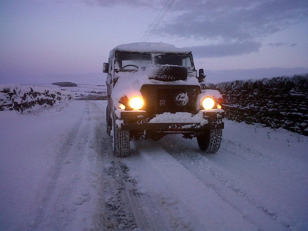 November Snow on Skipton Moor, 130 kb