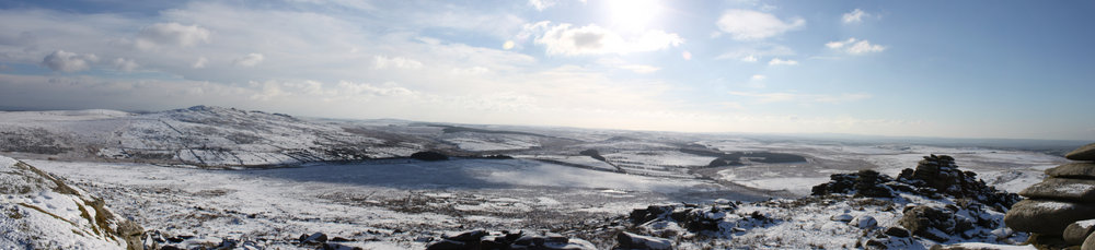 From Brown Willy to Rough Tor in the snow!!, 69 kb