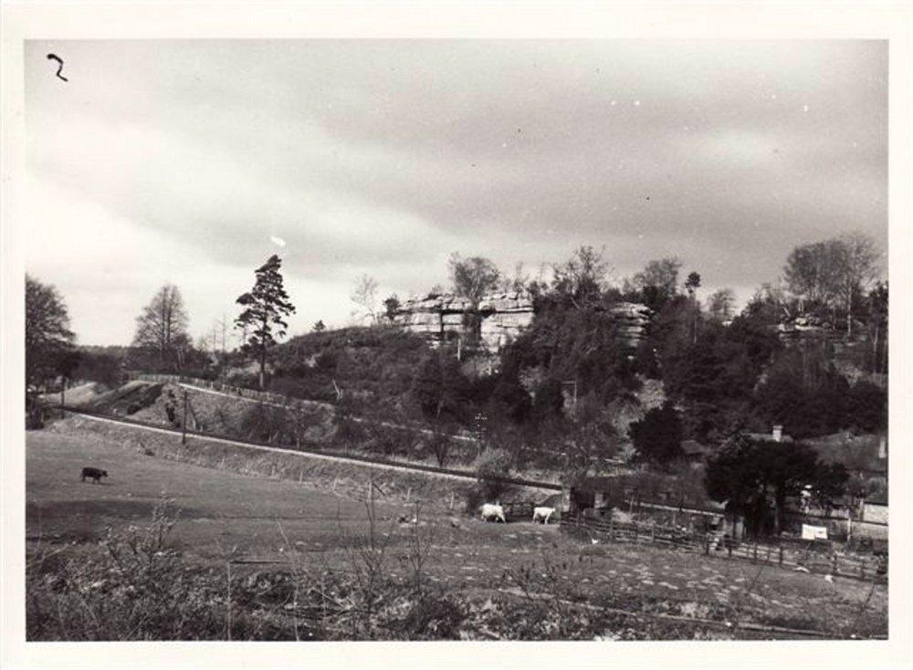Harrison's Rocks in the 1940s, 105 kb