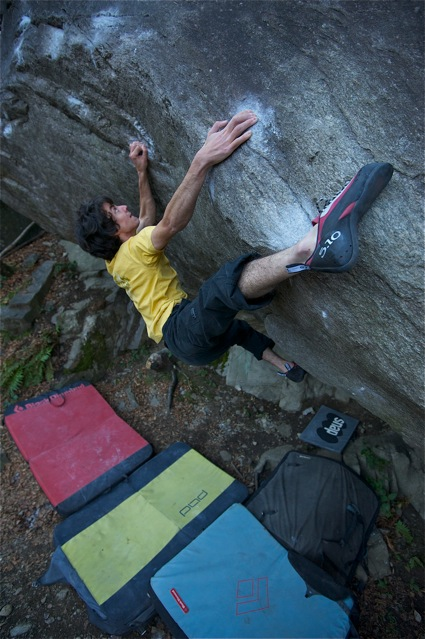 Paul Robinson on From dirt grows the flowers left, 8C, 104 kb