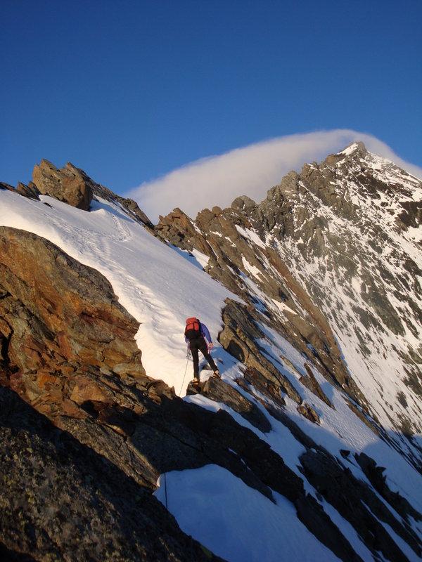 La Grivola ENE ridge, 119 kb