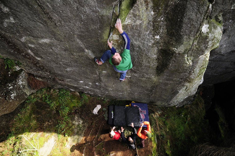 Andy Marshall on the thing in the forest E7 6c., 253 kb