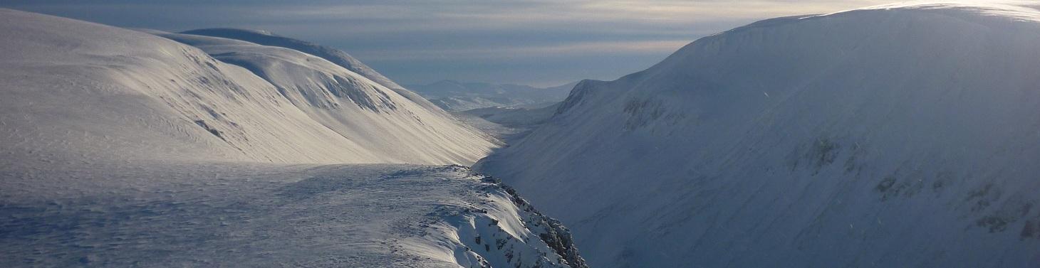 Stunning views across the Larig Grhu from Lurchers, 161 kb