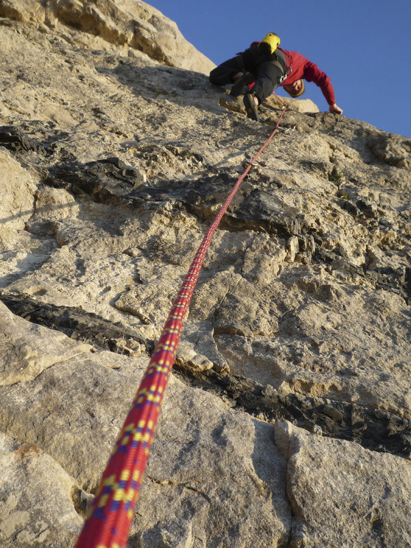 The Tendon Ambition in sport climbing mode, 214 kb