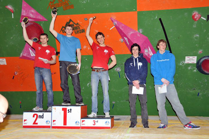 Male Senior Podium: Dave Barrans, Ned Feehally, Jon Partridge, James Garden, Adam Watson, 140 kb