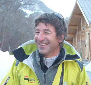 Gerard Pailheret - ICE Festival creator and inspirational figurehead of ice climbing in the Ecrins, 32 kb