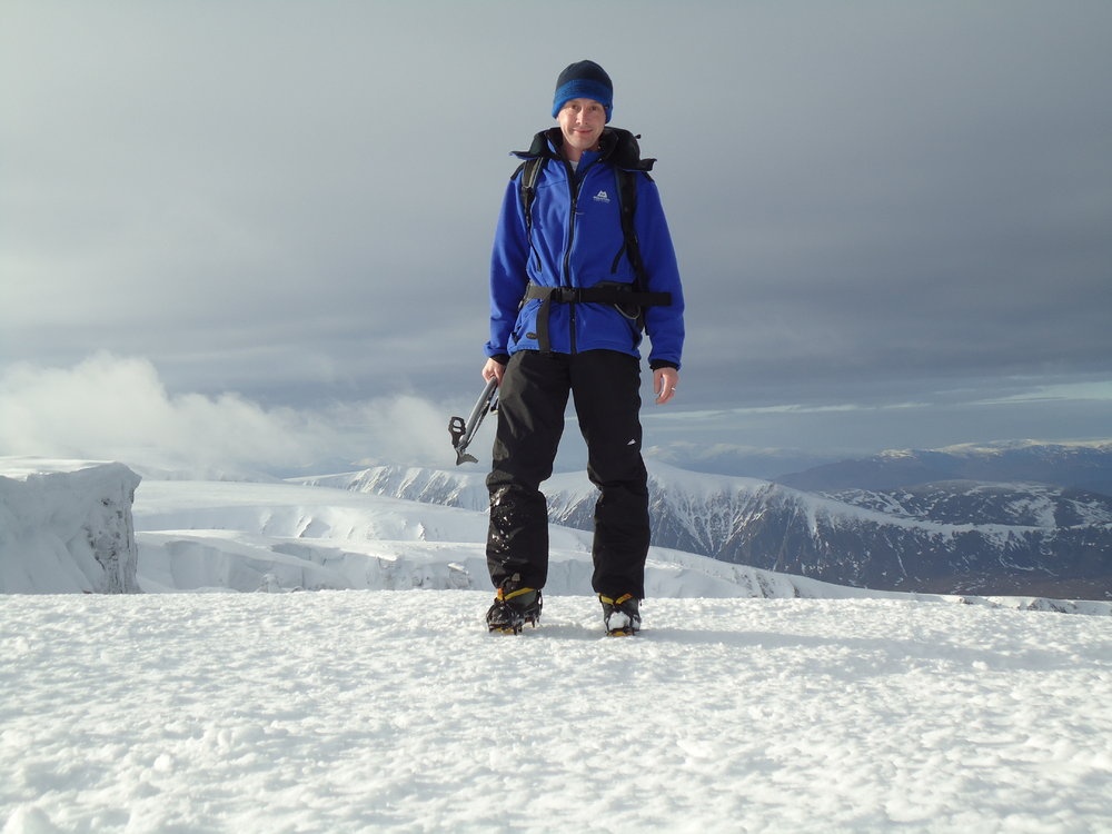 Me, in my element, on Cairn Lochain., 102 kb