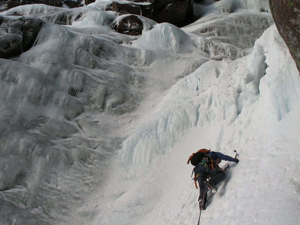 ice pitch on Hells Lum, 132 kb