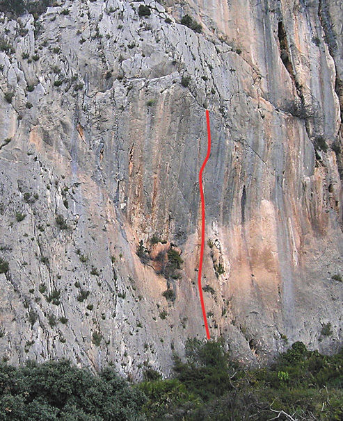 The line of The First and Last, Bernia, Costa Blanca, 186 kb