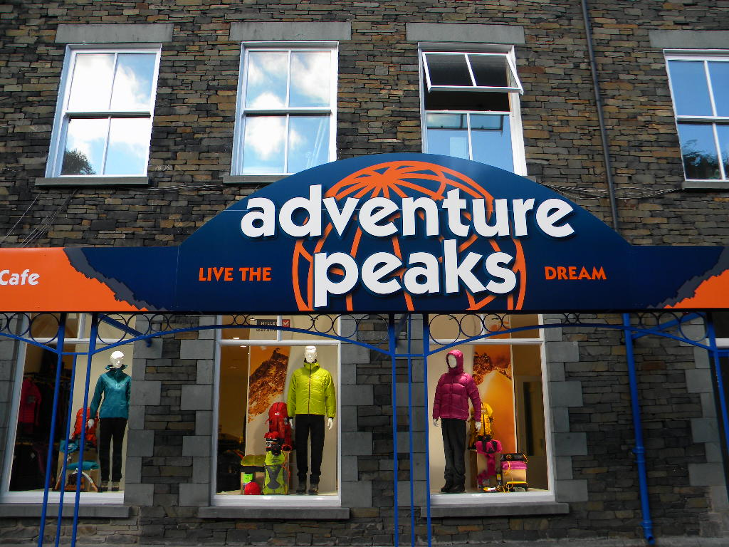 New Adventure Peaks Centre: Ambleside Climbing Wall, Cafe Altitude and Shop, 171 kb