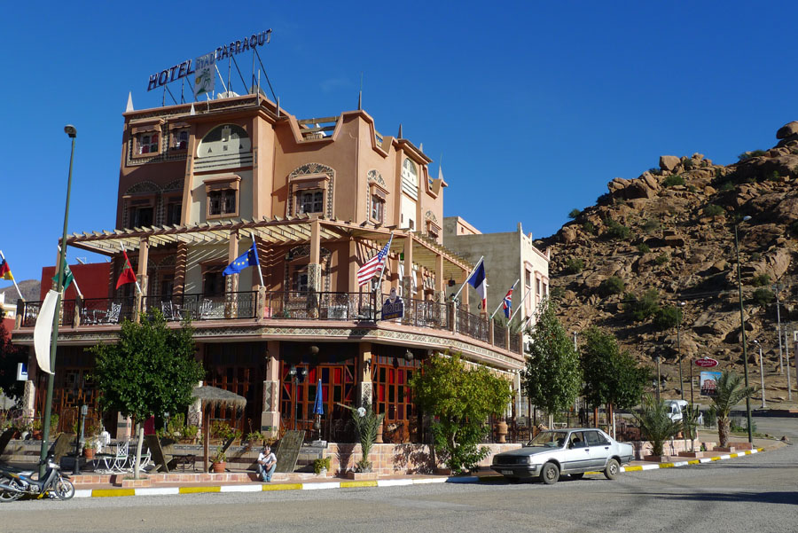 The Hotel Ryad in Tafroute - not a bad option, but not a strong recomendation either., 183 kb