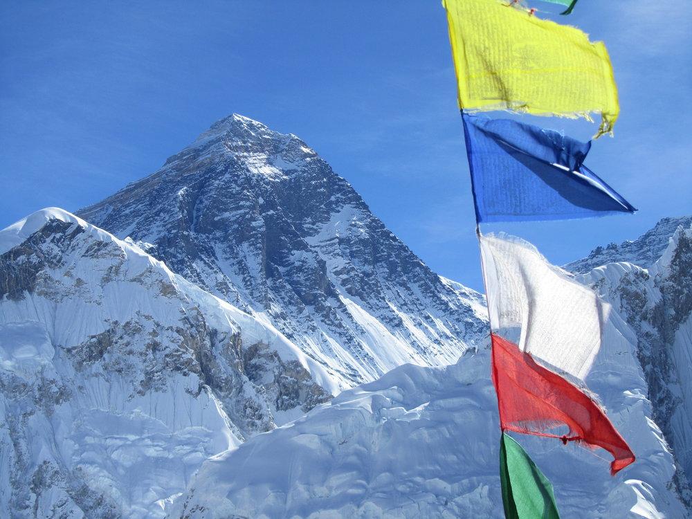 Everest from Kala Pattar, 162 kb