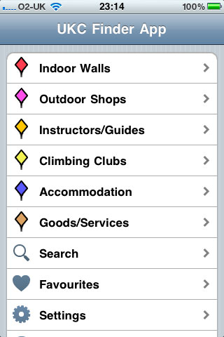 UKC Finder App - iPhone shot 1, 28 kb