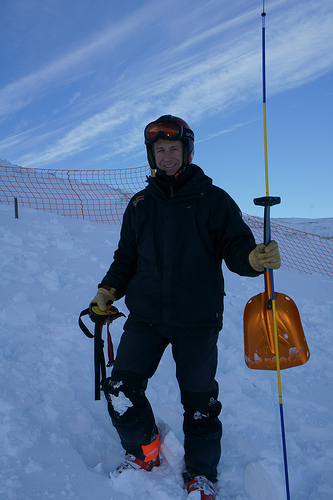 Avalanche Transceiver Training Area - Glencoe, 100 kb