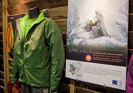 ISPO February 2011 - New Alpine Shell from Patagonia, 59 kb