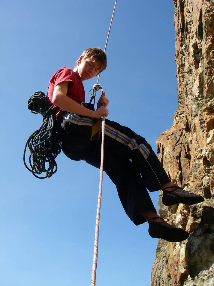 Self Rescue for Climbers - Passing the Knot on an Abseil, 118 kb